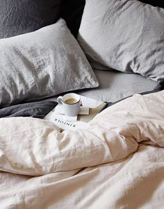 Dreaming of linen bedding
