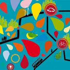 Les villes de demain, grandes et petites, urbaines et rurales, sont inscrites pour la majorité d'entre elles dans des objectifs de réduction des émissions de gaz à effet de serre et d'adaptation au réchauffement climatique.