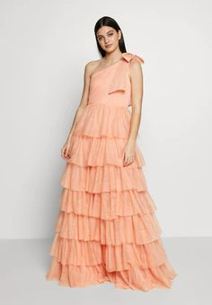 Engagement Outfits, Costume, Occasion Wear, Fabric Material, Dress Up, Tulle, Peach, Photoshoot, Gowns