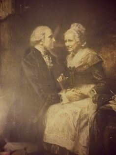 century painting of George and Martha Washington. It's sad (for us) that upon his death, Martha burned all of George's letters to her. What a historical treasure trove those would have been. American First Ladies, Early American, American Presidents, Us Presidents, Conquistador, George Washington, Us History, American History, Presidential History