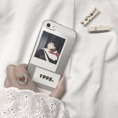 ˗ˏˋ @pcachylve ˎˊ˗ Cute Cases, Cute Phone Cases, Iphone Cases, Kpop Phone Cases, Diy Phone Case, Cell Phone Covers, Korean Aesthetic, White Aesthetic, Aesthetic Photo