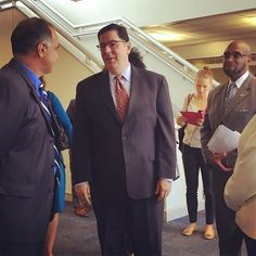 Mayor @billpeduto arrives at CCAC Allegheny for the Learn & Earn Recognition Event.