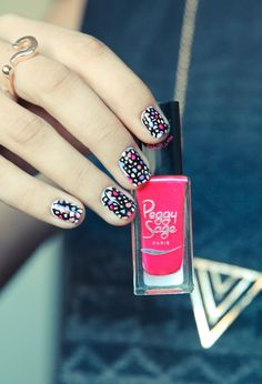 This is my ABSOLUTE favourite website for nail art ideas! www.pshiiit.com   Mosaic nail art