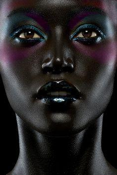 art makeup black - Google Search