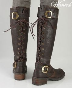 These boots would look amazing with an elf cosplay!