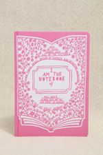 Rob Ryan Pink A5 Notebook