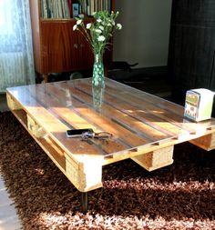 Construire un canap lit futon avec palettes de bois futons et palettes - Construire table basse ...
