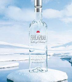 FINLANDIA Vodka (2003) Summer Winter, Winter Food, Vodka Bottle, Alcohol, Drinks, Finland, Rubbing Alcohol, Drinking, Beverages