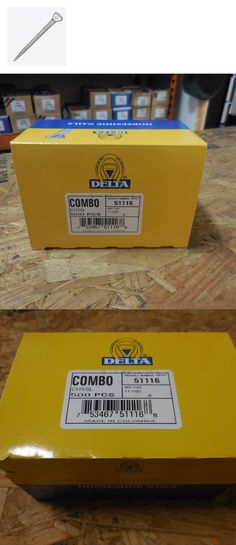 Hoof Rasps and Farrier Tools 183404: Delta Combo Ch 5 Sl Horseshoe Nails - 500 Ct. -> BUY IT NOW ONLY: $35 on eBay!