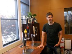 GitHub always has four beers on tap served from the homemade Kegerator. The selection changes regularly. (business insider)