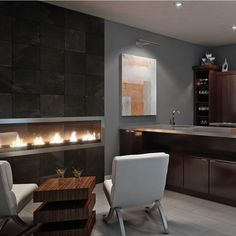 Serve in style with the full bodied finish of our 530 Cherry Java wine bar.  #waypointlivingspaces #kitchencabinets  #cherryjava #winebardesign Wine Bar Design, Living Area, Living Spaces, Cherry Cabinets, Cabinet Doors, Java, Kitchen Cabinets, Relax, Table