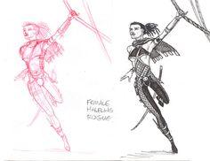 Female Halfling Rogue
