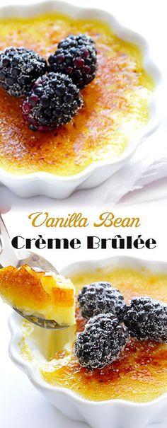 Best Vanilla Bean Creme Brulee