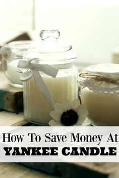 Learn how to save money at Yankee Candle with these great tips for saving money…