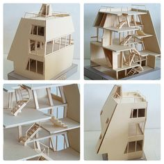 maquete, house and atelier bow-wow 01, arch. atelier bow-wow by m correia campos, via Flickr