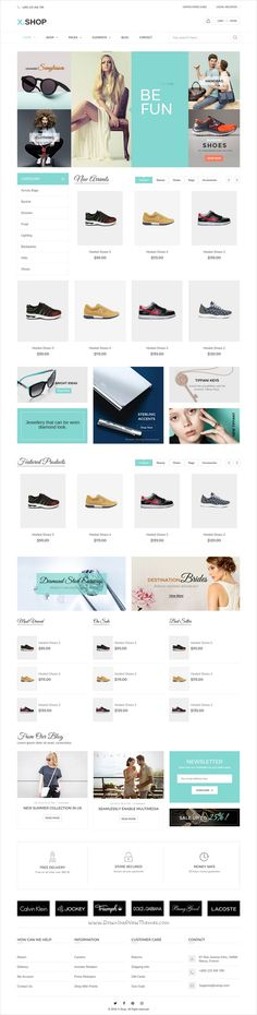 X-shop is an advanced responsive #Shopify theme for awesome #fashion #store #eCommerce websites with 20+ unique homepage layouts download now➩ https://themeforest.net/item/xshop-kute-shopify-theme/18977648?ref=Datasata
