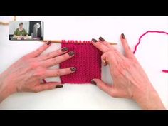 Knitting Help - Reading Your Knitting and Using a Row Counter