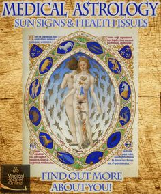 medical astrology sun signs and health issues