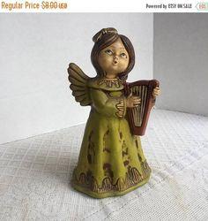 Christmas Sale Mid Century Chalkware Angel Made in Japan /