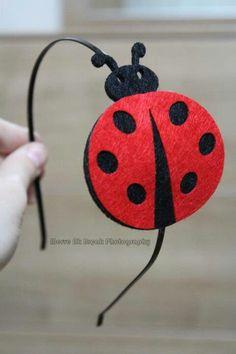 Uğur böceği taç. Ladybug