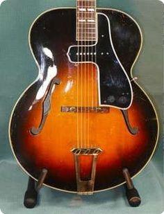 #Gibson #L7 1950 Tobacco #Sunburst #VintageGuitars #Guitars