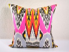 Ikat Pillow covers Decorative pillow covers  throw por islimi, $29.99