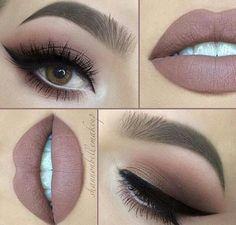 makeup, lips, and make up kép
