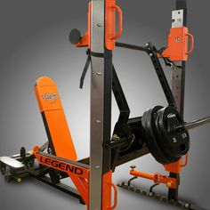 The Performance Series Stealth Leg Press is perfect if you already own a cage but have limited funds, limited space, or both. Home Gym Garage, Diy Home Gym, Gym Room At Home, Diy Gym Equipment, Training Equipment, No Equipment Workout, Gym Workouts, At Home Workouts, Workout Stations