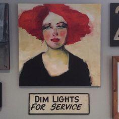 """Artist Corinne Galla  """"Miss M"""""""