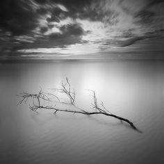 Minimalist black and white landscape photography inspiration from Will S.
