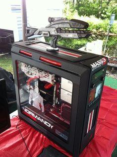 Mass Effect 3 - NZXT Switch 810 Mod - by MybadOmen (More linked)