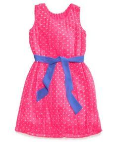 477c396d Epic Threads Girl's Sleeveless Dress Sash Pink Polyester Size 8 for sale  online | eBay