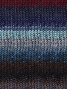 Kureyon - Light Teal, Blue, Red, Brown | #259 by Noro at KnittingFever.com