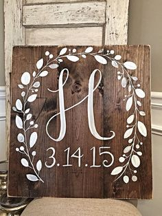 Hey, I found this really awesome Etsy listing at https://www.etsy.com/listing/223160470/rustic-home-decor-initial-with-wedding