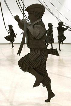 Maibaum, (detail) by Canadian artist Kristi Malakoff