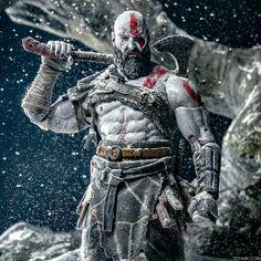 Your never to old to still be a god Kratos God Of War, Character Concept, Character Design, God Of War Series, War Tattoo, Fantasy Warrior, Fantasy Dragon, Batman, Marvel