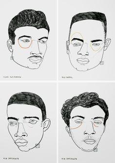 Portrait Illustration, Graphic Illustration, Cloud Drawing, Art Sketchbook, Fashion Sketchbook, Portraits, A Level Art, High Art, Illustrations And Posters