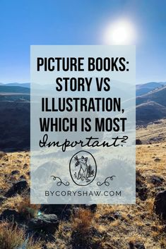 Is a story or illustration more important to a picture book? For me, the answer is largely semantic.Most creators would agree that story is the most important element to a picture book. #IllustrationTips #WritingTips #KidLit Writing A Book, Writing Tips, Writing Prompts, Writing Inspiration, Creative Inspiration, Writing Characters, Book Publishing, Infographic, Illustration Art