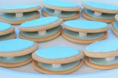 clam shell blue boys party ideas kids patyu food ocean theme sea theme party first birthday ideas