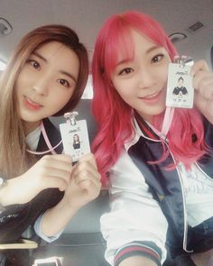 4Minute Sohyun & Heo Youngji