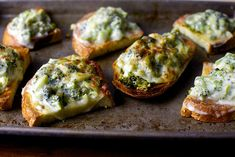broccoli melts // smitten kitchen
