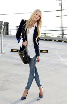 Inspiration Look - LoLoBu.. great for casual Friday's at work