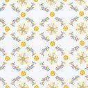 BananaFish MiGi Sweet Sunshine Fitted Crib Sheet