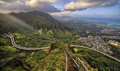 Paisajes.Escaleras Haiku – Hawái