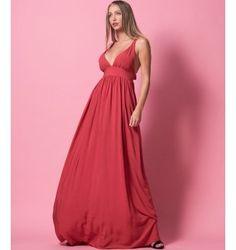 Princess Maxi Φόρεμα με δέσιμο στη πλάτη - Εκαϊ
