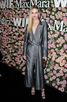 Lydia Hearst attends Max Mara and Vanity Fair's celebration of Women In Film's Face of the Future Award recipient Zoey Deutch at Chateau Marmont on...
