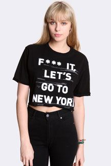 Lets Go To New York Tee