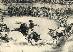 Tauromaquia, Goya