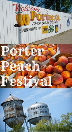 The Porter Peach Festival is one of the tastiest food festivals in Oklahoma! Each year, local orchards show off their crops while games, arts and crafts, live music, carnival rides and more take over the town.