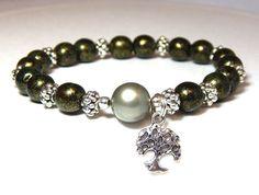 Woodland Green Bracelet
